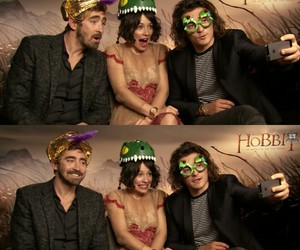 evangeline lilly, the hobbit, and botfa image