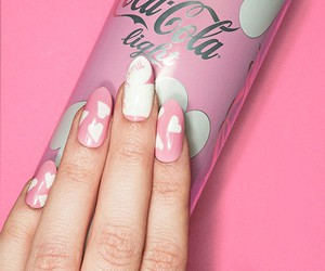 beauty, Moschino, and nail art image