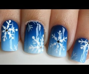 nails and snow image