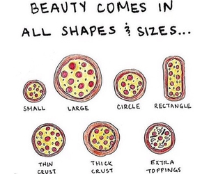 pizza, food, and beauty image