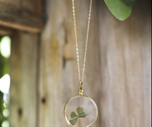 clover, @lc14, and jewelry image