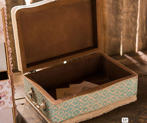 antique, blue, and box image