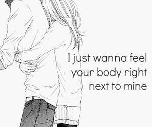 body, couple, and love quotes image