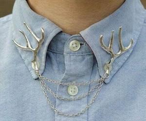 fashion, deer, and shirt image