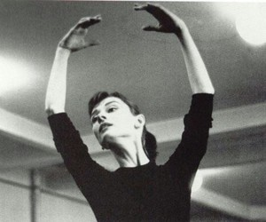 ballet, audrey hepburn, and dance image