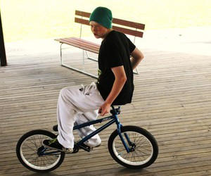 bmx and guy image
