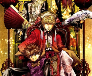 anime, son goku, and saiyuki image