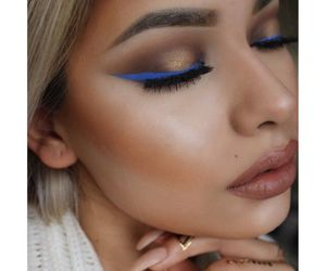 flawless, make up, and gold image