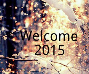 welcome, winter, and year image