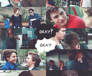 cute couple, the fault in our star, and okay? okay image