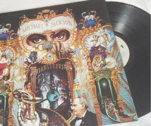 album, dangerous, and michael jackson image