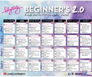 workout, fitness, and blogilates image
