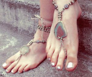 hippie, accessories, and boho image