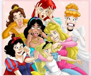 princess, disney, and funny image