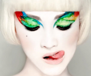 makeup and colorful image
