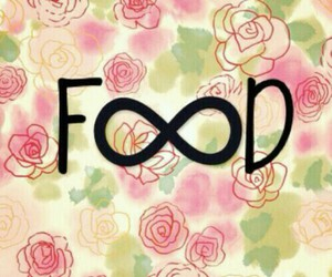 eat, flowers, and food image