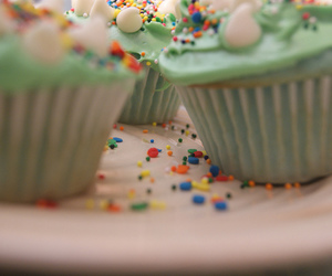 autumn, cupcakes, and colorful image