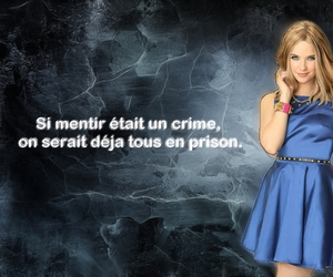 note, pretty little liars, and ashley benton image