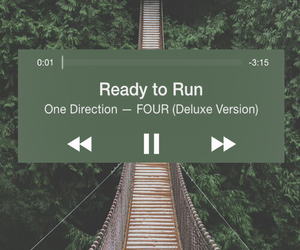 one direction, four, and ready to run image