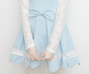 dress, pastel, and cute image