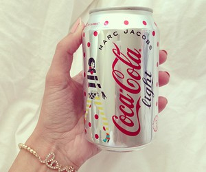 coca cola, marc jacobs, and light image