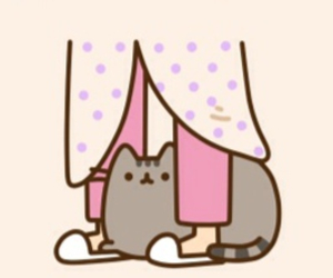 shelter and pusheen image