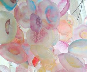 pastel, jellyfish, and pink image