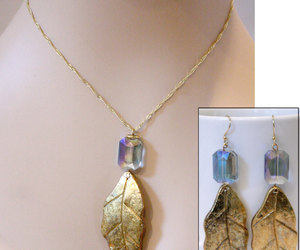 crystal jewelry, jewellery, and pendant image