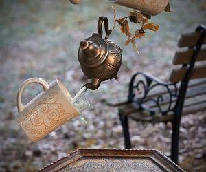 tea, magic, and wonderland image