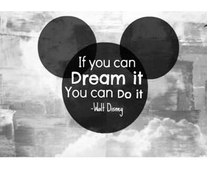 Dream and disney image