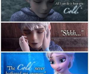 frozen, jelsa, and elsa image
