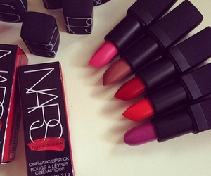lipstick, nars, and red image