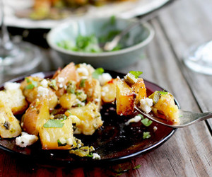 gluten free and roasted red potatoes image