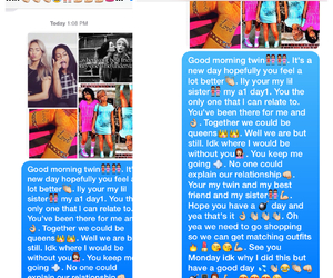 best friends, sister, and text image