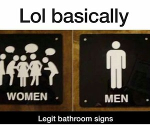 funny, women, and girls image