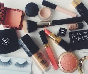 makeup, chanel, and nars image