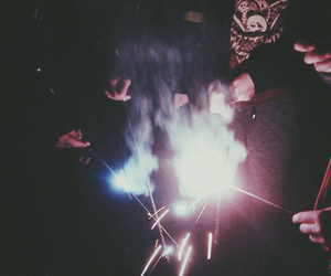firework, grunge, and music image