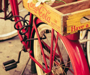 bike, coca cola, and hipster image