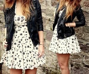 black, dress, and vestido image