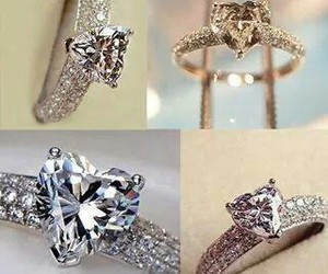 heart, jewelery, and ring image