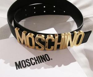Moschino, fashion, and belt image
