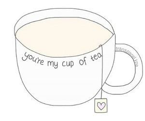 overlay, tea, and cup image