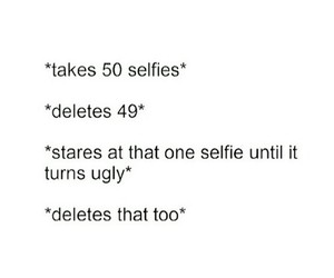 selfie, funny, and ugly image