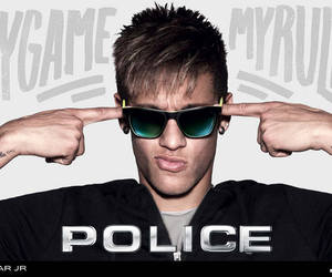 neymar, neymar jr, and police image