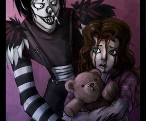creepypasta, laughing jack, and sally image