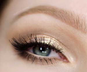 eye makeup, eyeshadow, and lashes image