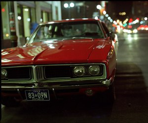 car and '69 dodge charger image