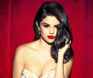red, selena gomez, and sexy image