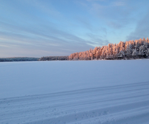 finland, mystique, and snow image