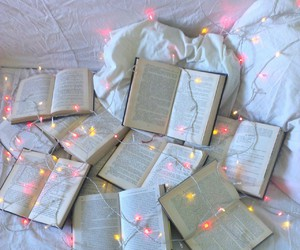beautiful, books, and christmas image